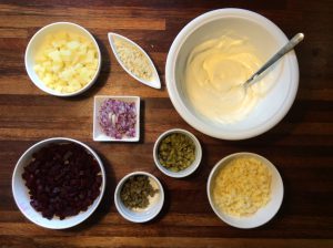 ingredienser russisk salat