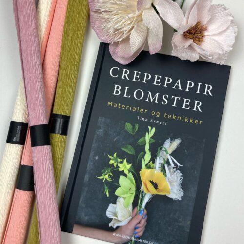 Bog om crepepapirblomster af Tina Krøyer