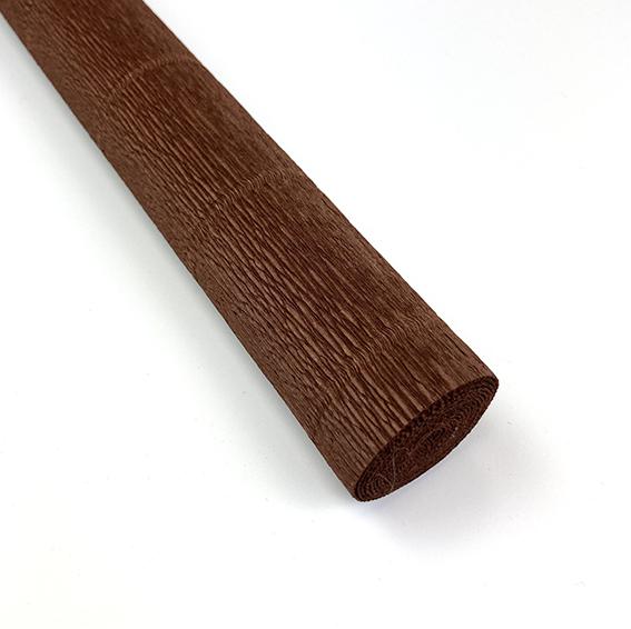 chokoladebrun crepepapir