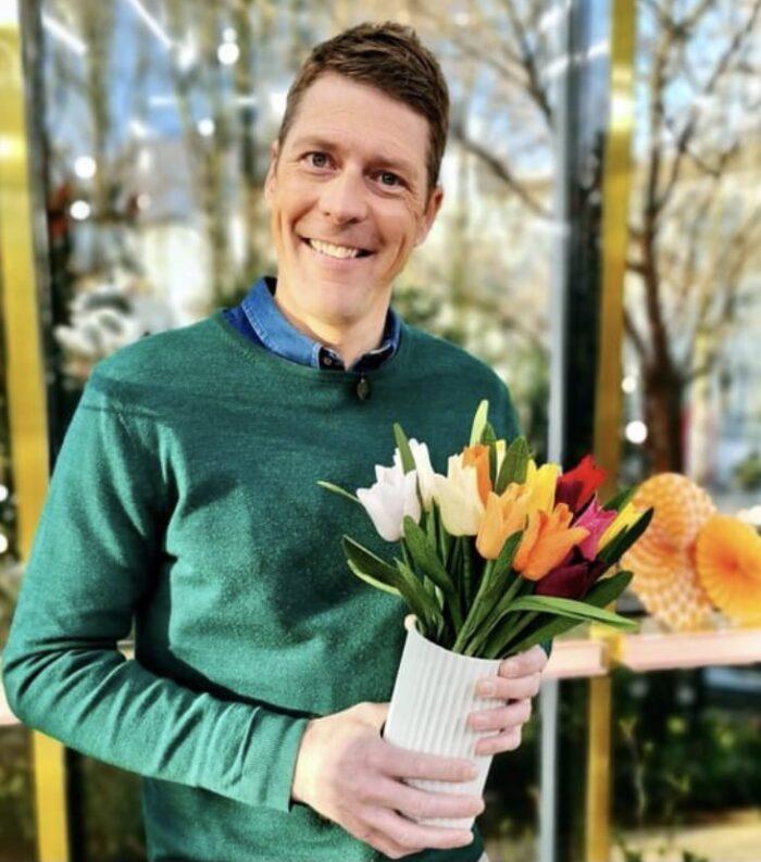 Tulipaner Steen Langeberg Go'Morgen Danmark