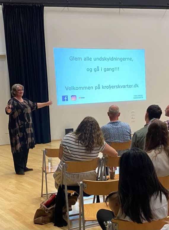 Tina Krøyer foredrag kreativitet
